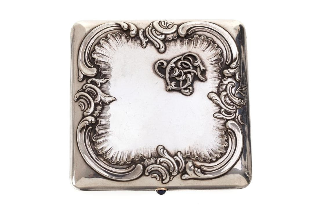 Cigarette case, 1895