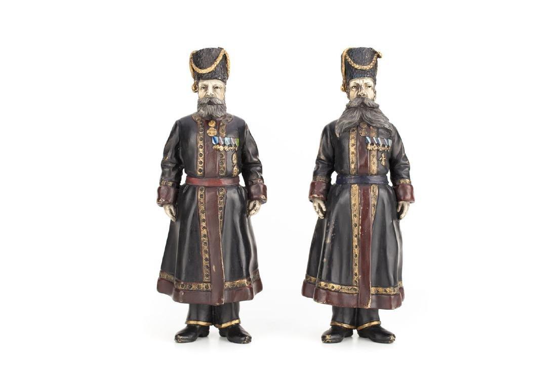 A pair of figures 'Kamer-Kozak', 1912