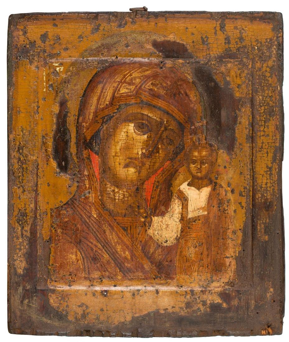 Kazanskaya Mother of God, Icon, Early 18th Century