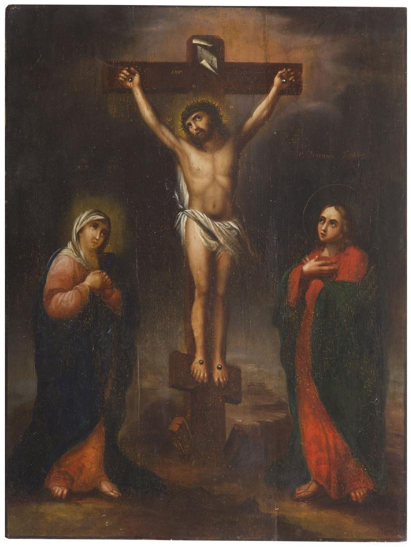 Crucifixion, Second half 19th Century
