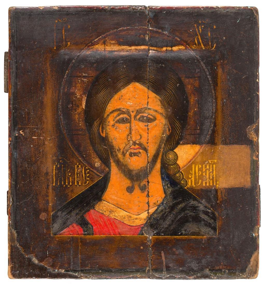 The Saviour, Icon, 17th/18th Century