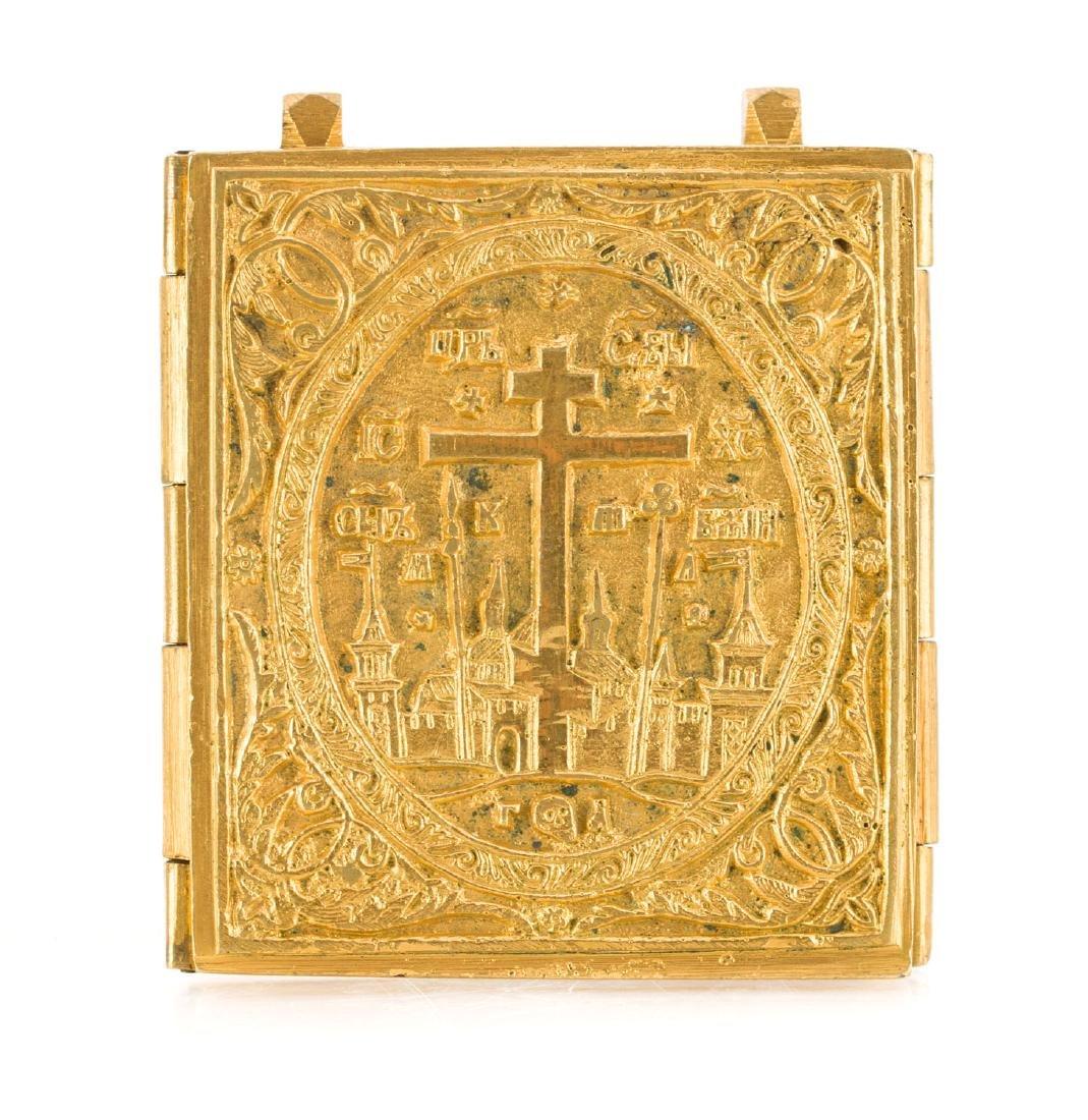 A Deesis, Icon, circa 1850 - 2