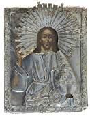 Christ Pantokrator, Icon, 1833, Petersburg