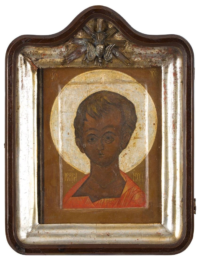 Christ Emmanuel, Icon, 18th/19th Century