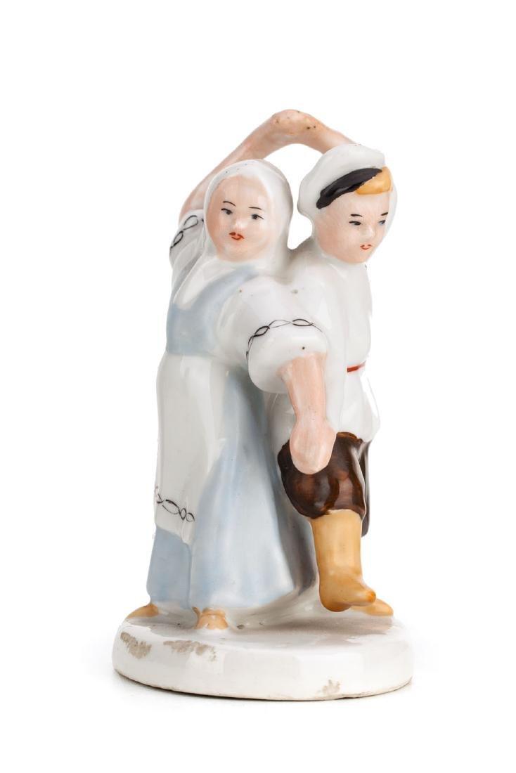 Figurine - Dancing couple, 1950s