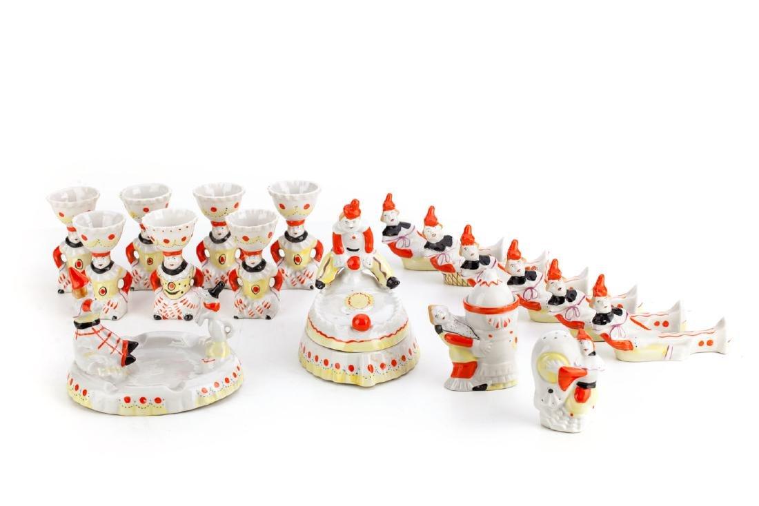 Porcelain set, Interwar Period