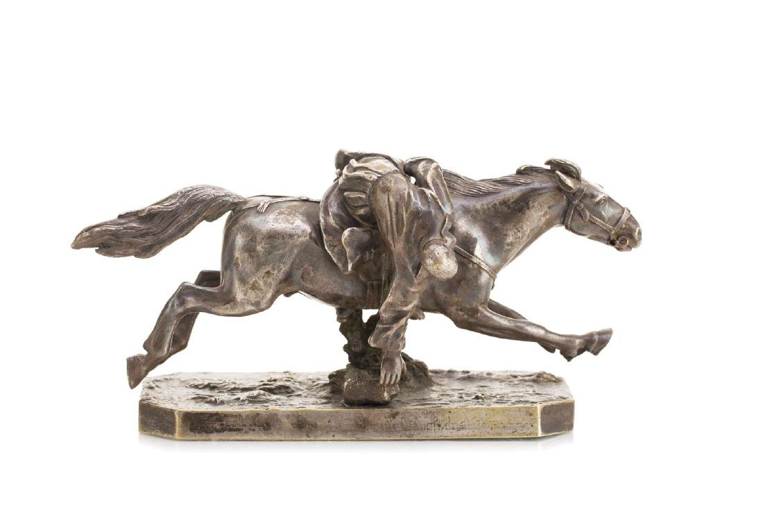 Figure - Cossack on a horse, 19th/20th Century