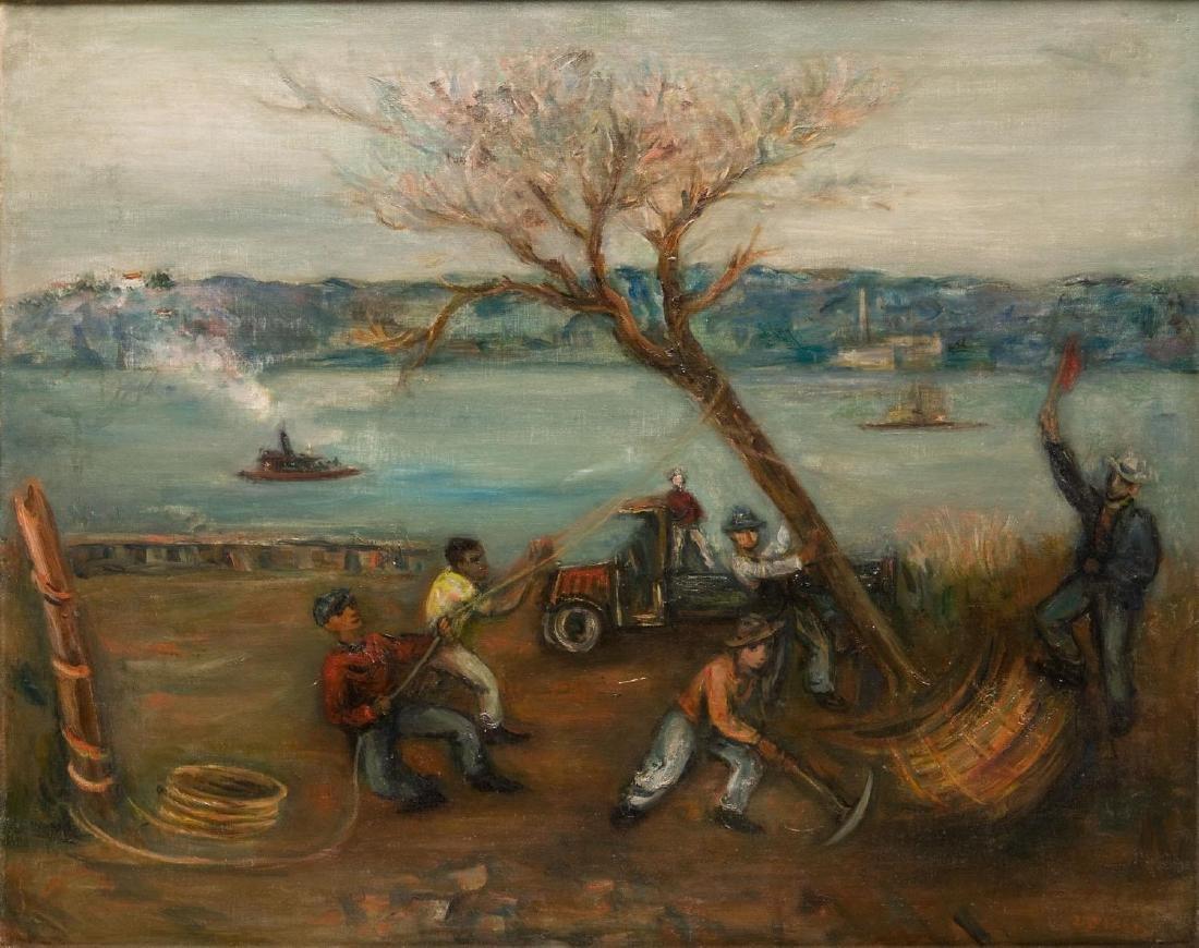 Jakub Zucker (1900 - 1981) From Spain, circa 1932