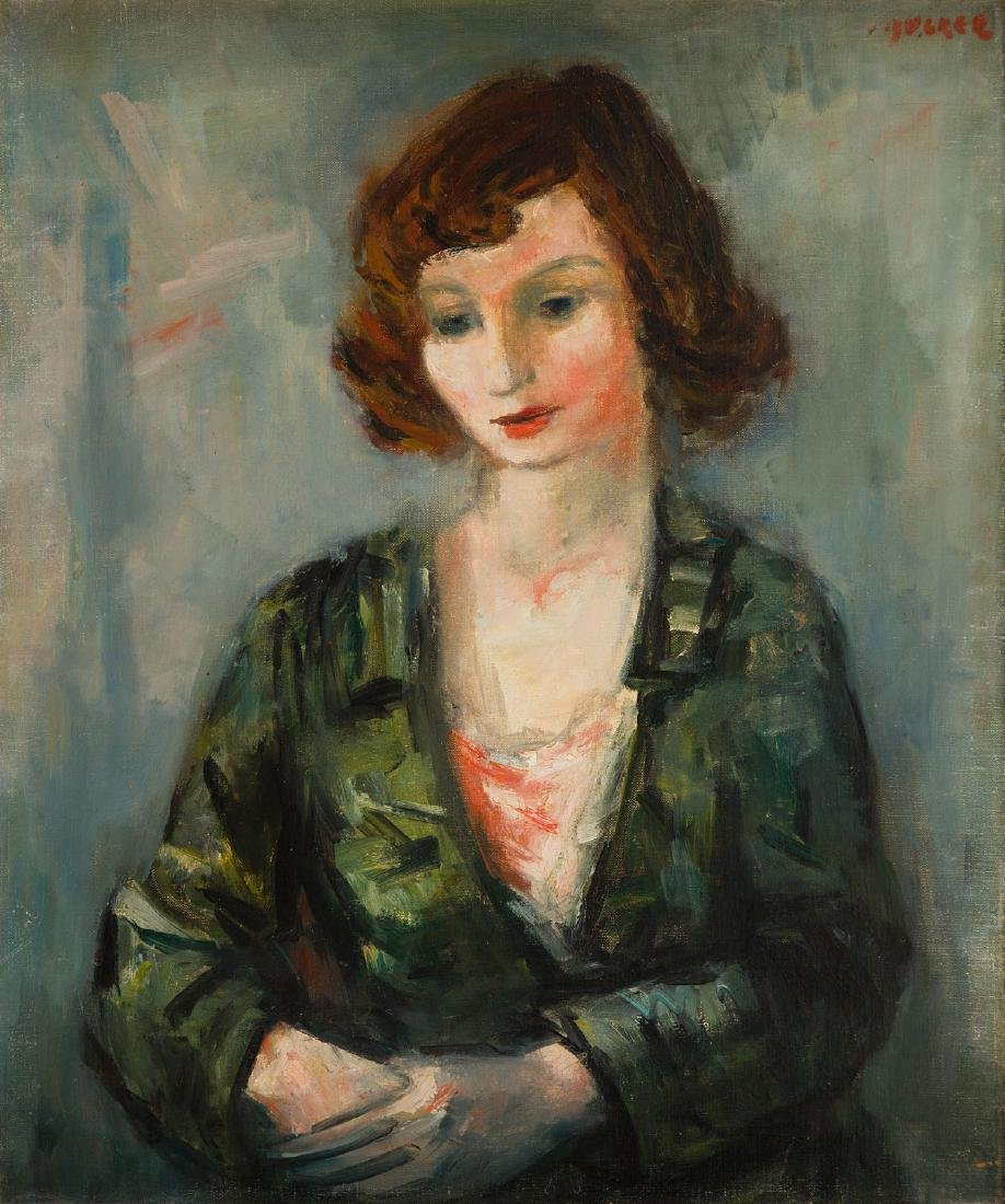 Jakub Zucker (1900 - 1981) Portrait of a woman