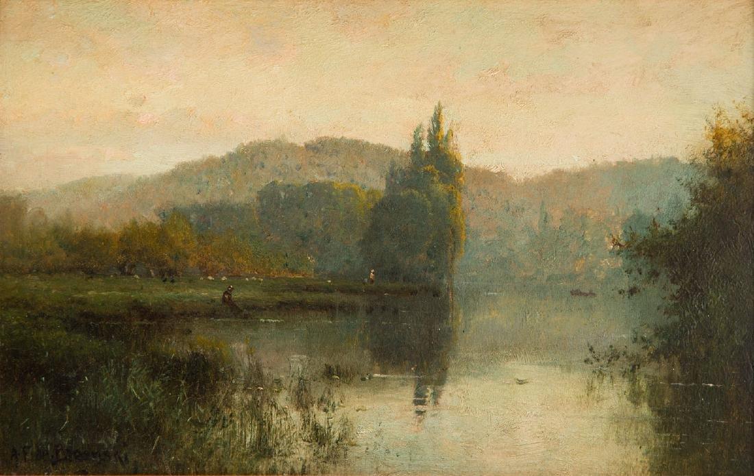 Alfred Fontville de Breanski (1877 - 1957) Landscape