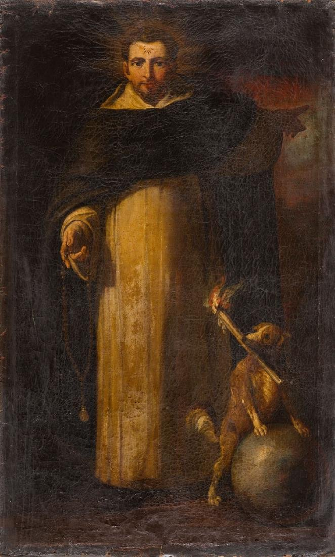 Unknown Artist (17th - 18th Century) Saint Dominic