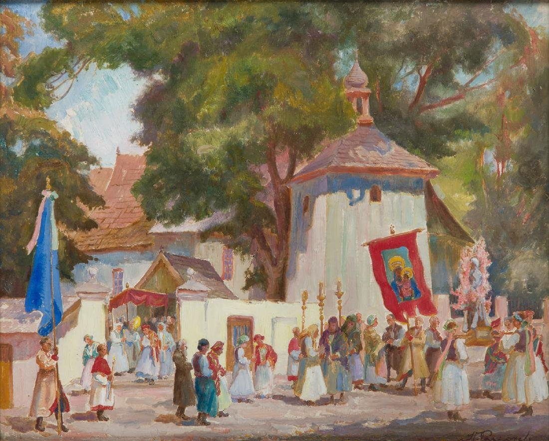 Stanislaw Paciorek (1889 - 1952) Procession