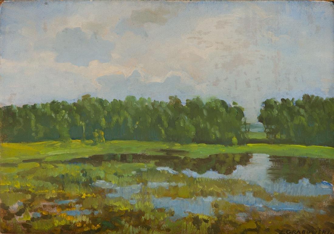 Zygmunt Grabowski (1892 - 1939) Landscape