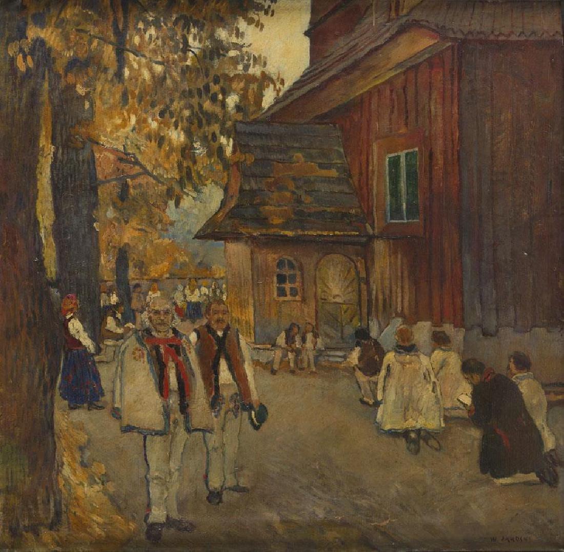 Wladyslaw Jarocki (1879 - 1965) Local feast