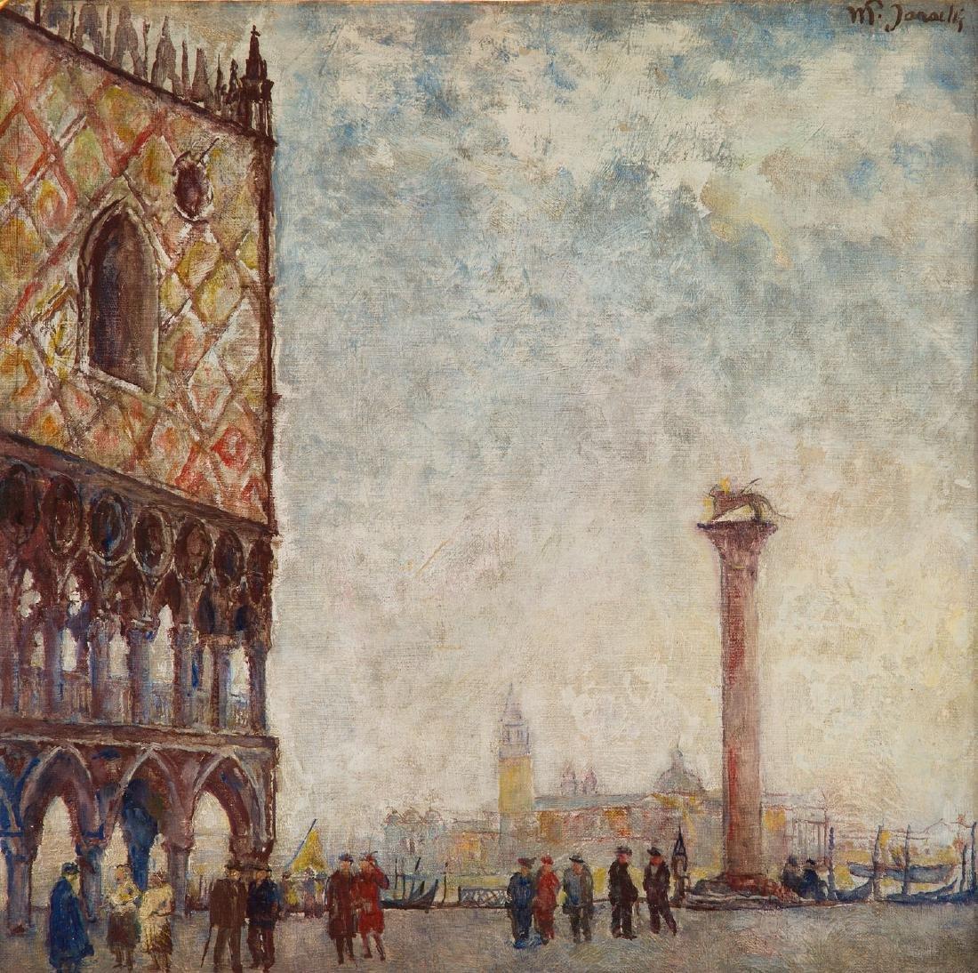 Wladyslaw Jarocki (1879 - 1965) Piazza San Marco