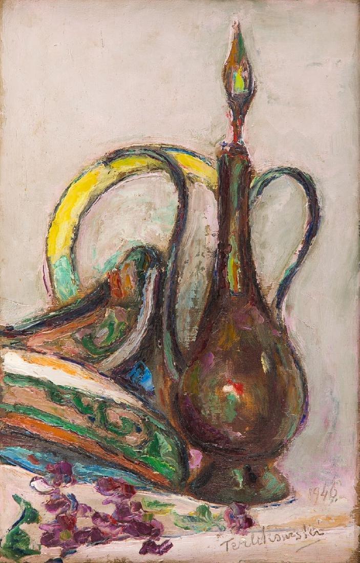 Wlodzimierz Terlikowski (1873 - 1951) Still life with a