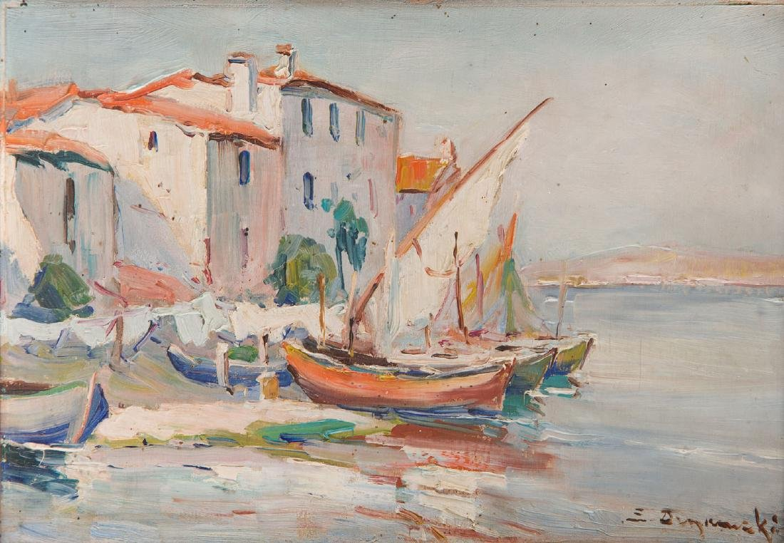 Eugeniusz Dzierzencki (1905 - 1990) Harbour