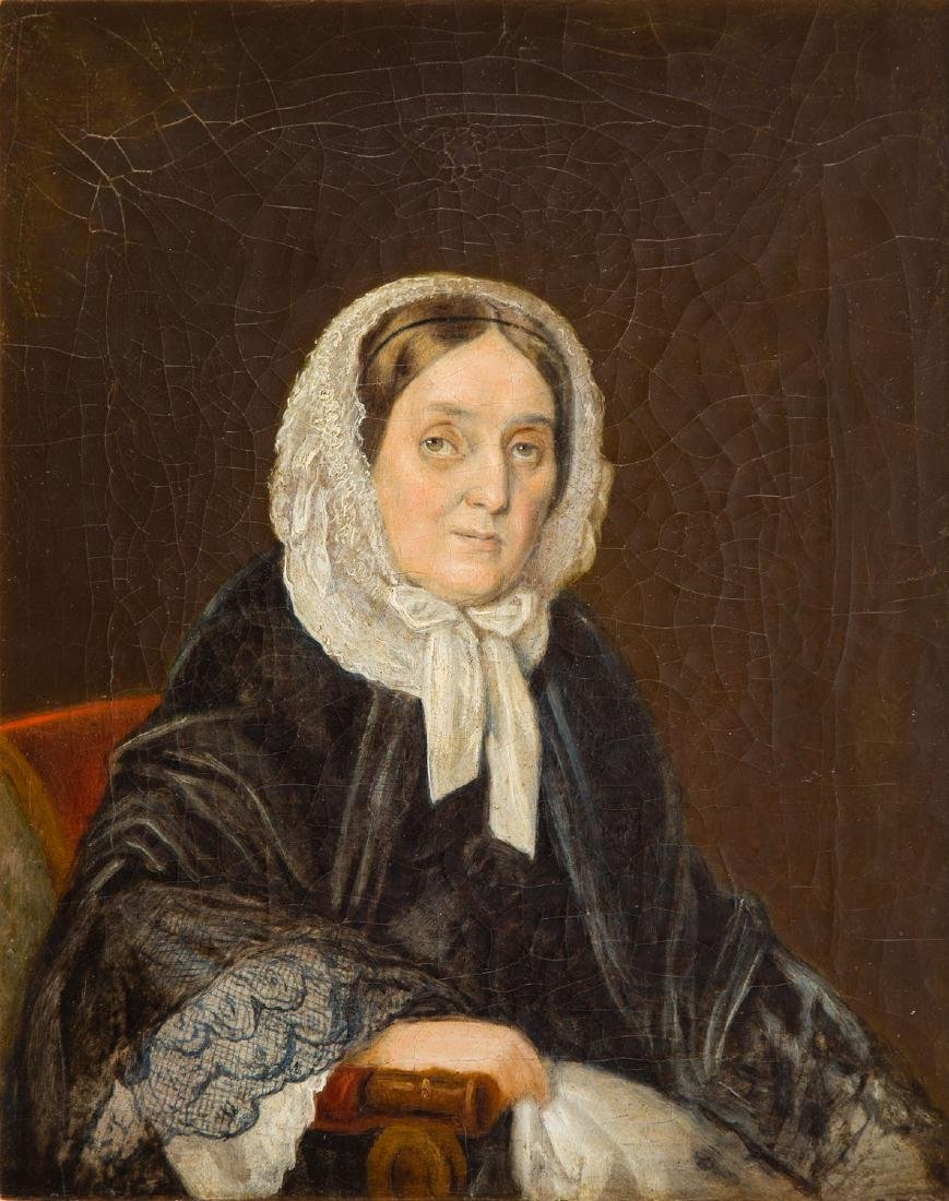 Unknown Artist (19th Century) Portrait of a matron