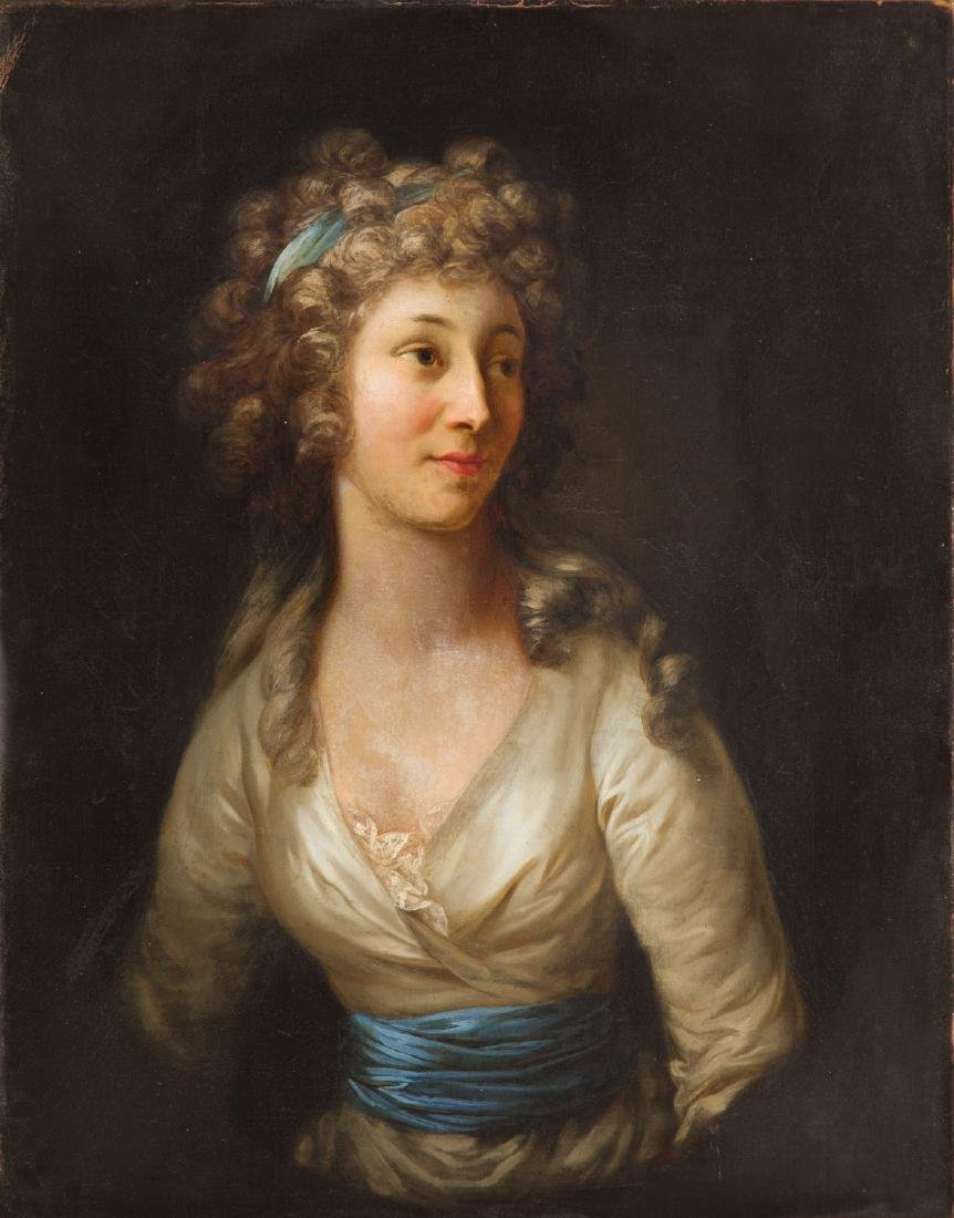 Anton Graff (after) (1736 - 1813) Portrait of a