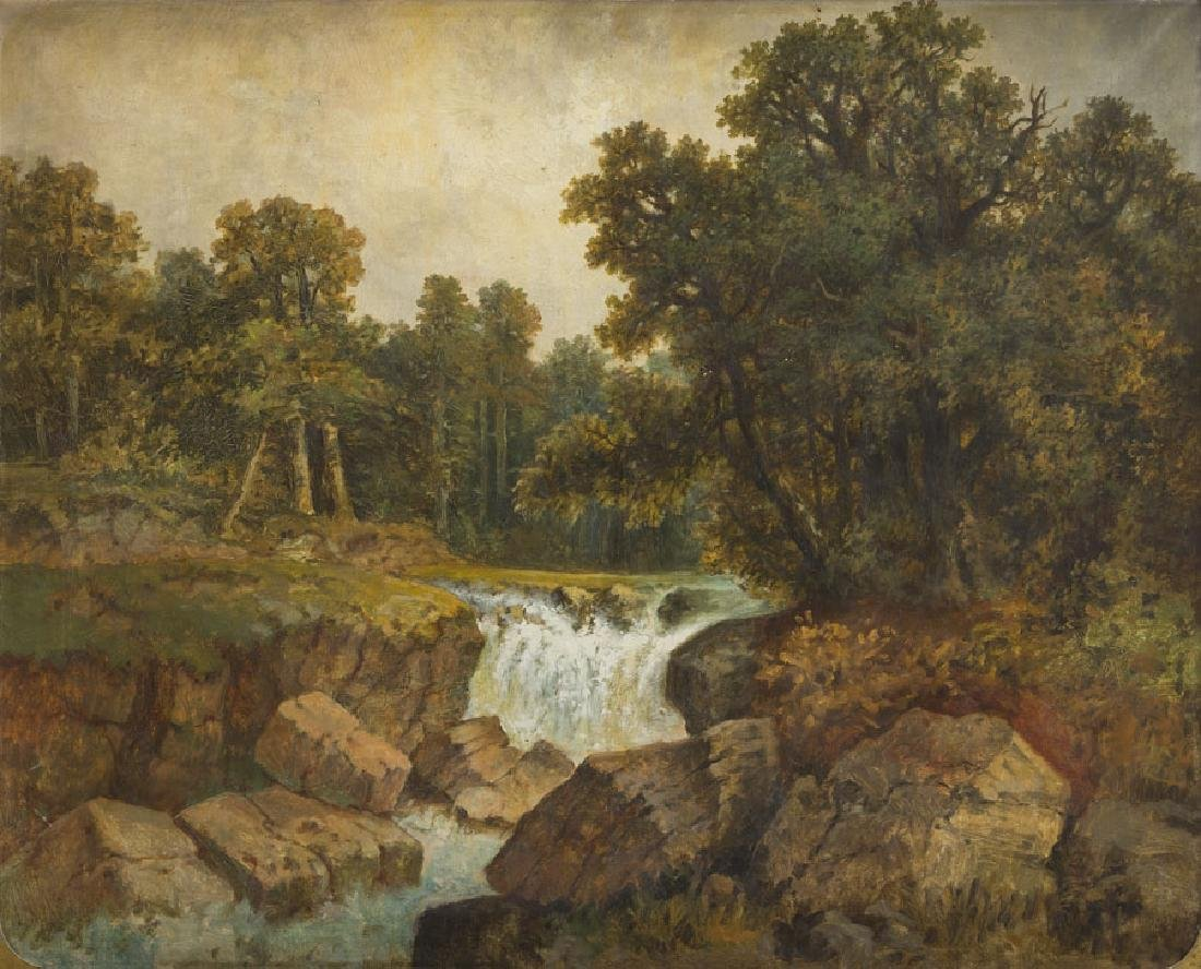 Unknown Artist (19th Century) Landscape with a