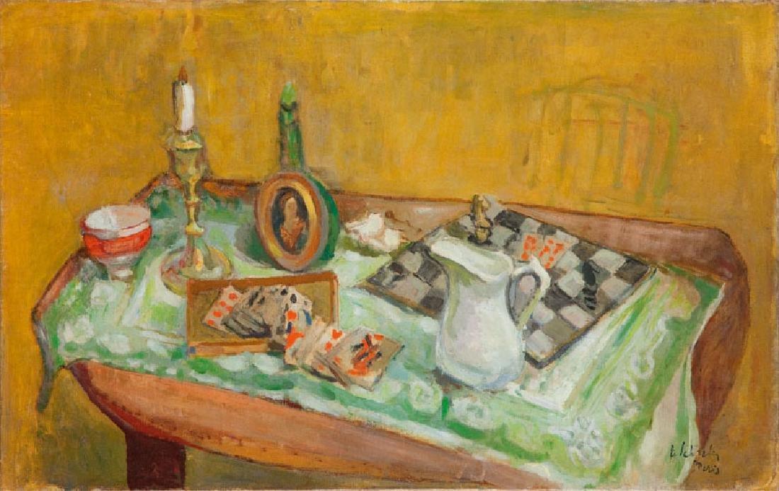 Zygmunt Schreter (1886 - 1977) Still life with a