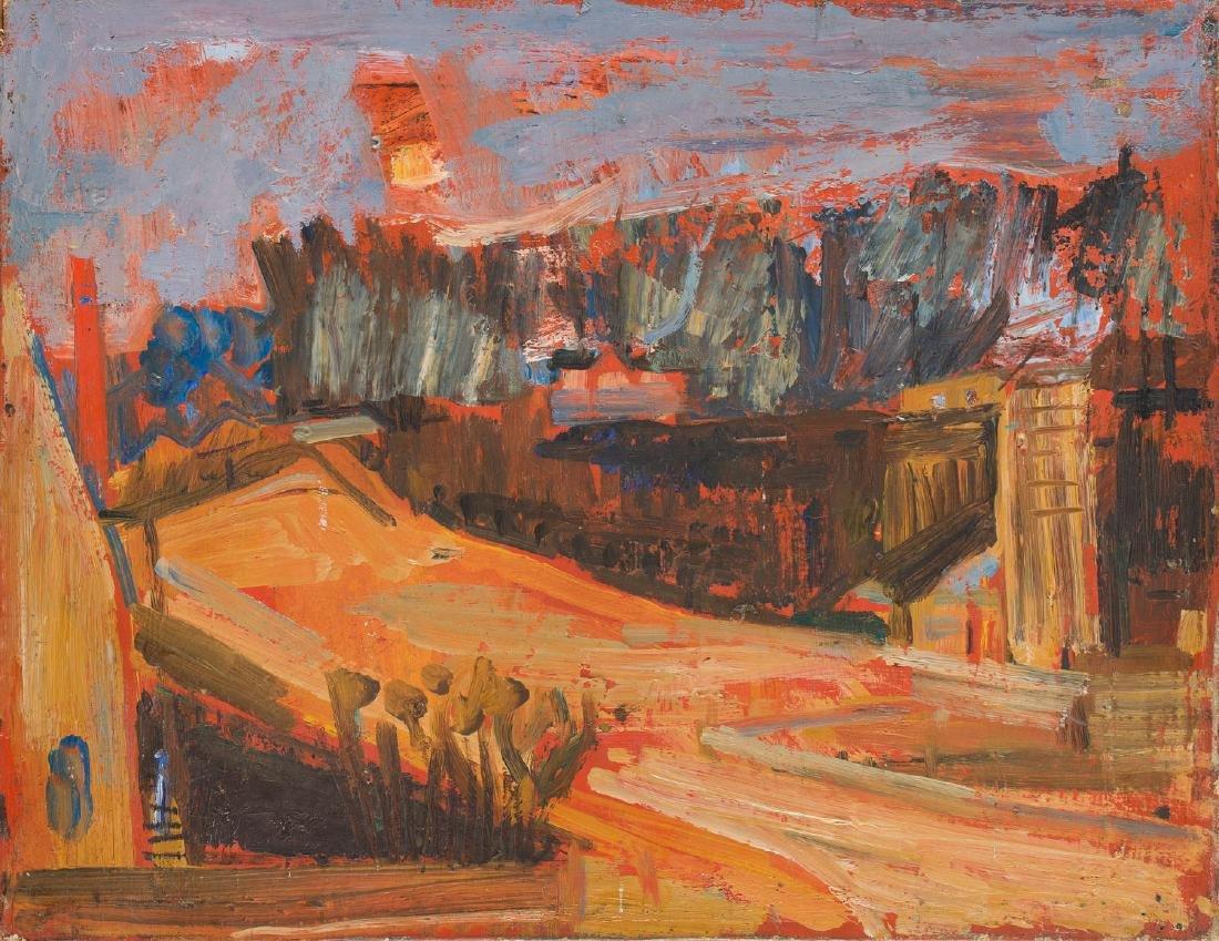 Joseph Pressmane (1904 - 1967) Cityscape