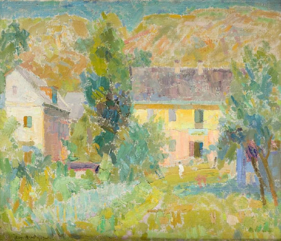 Eugeniusz Arct (1899 - 1974) Landscape, 1967