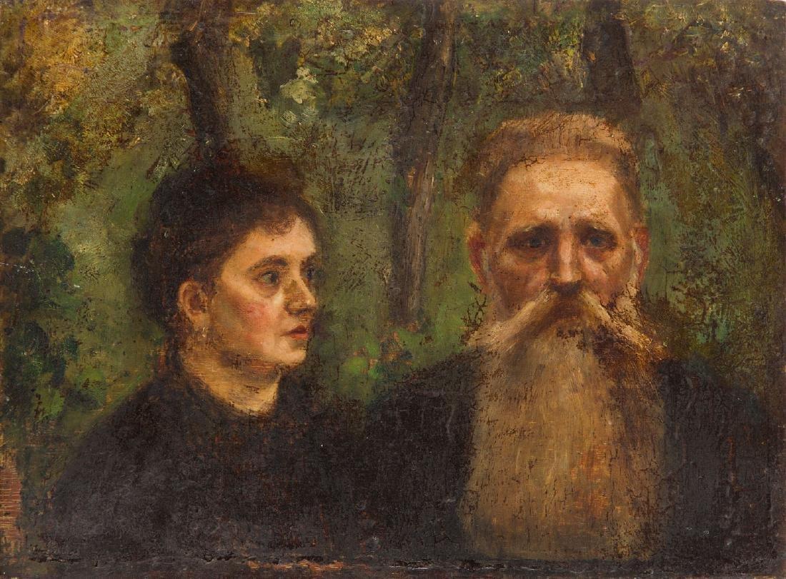 Unknown Artist (19th/20th Century) Double portrait