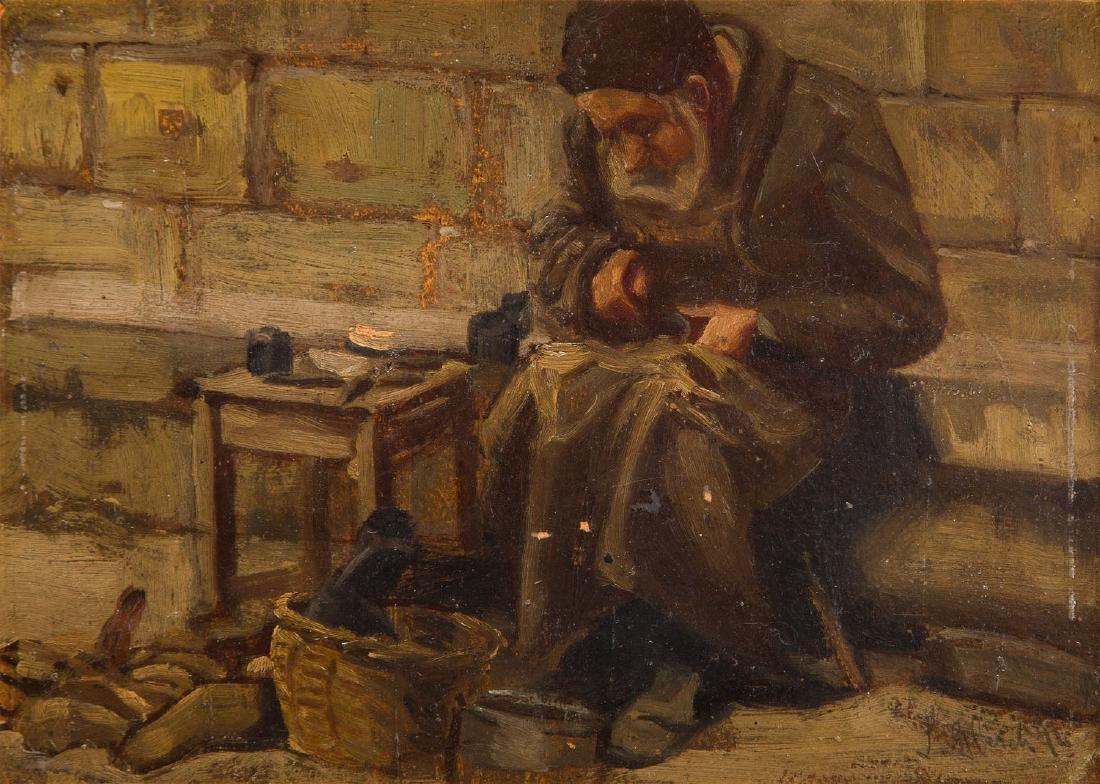 Leon Gleich  'Patch-maker' ('Lviv Teodor's Square'),