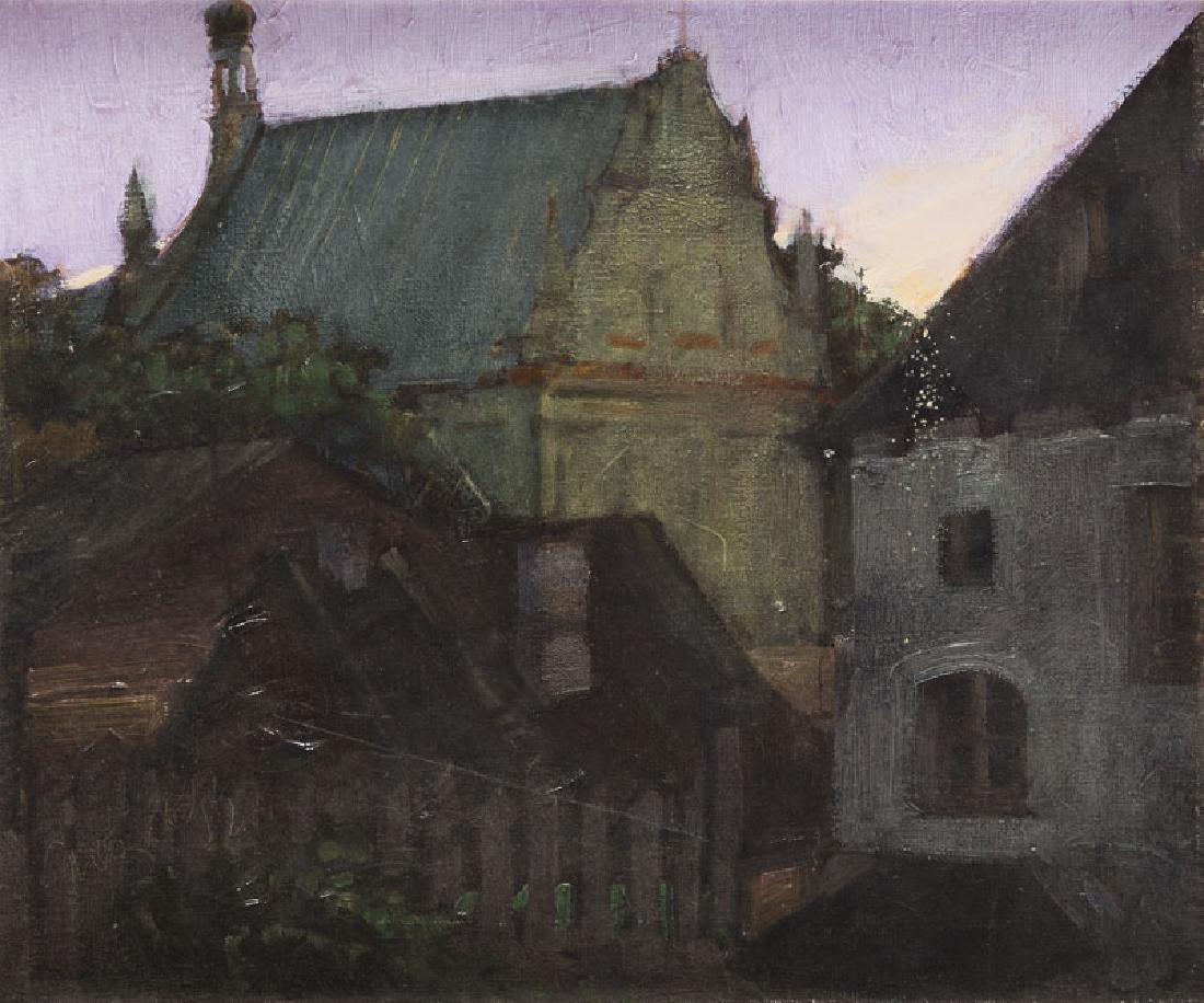Unknown Artist (20th Century) View of Kazimierz Dolny