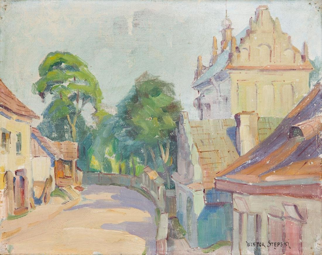 Wiktor Stepski (1869 - 1929) Lubelska Street in