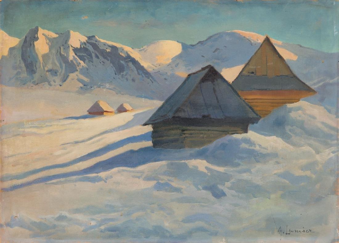 A. Lumicz Winter landscape