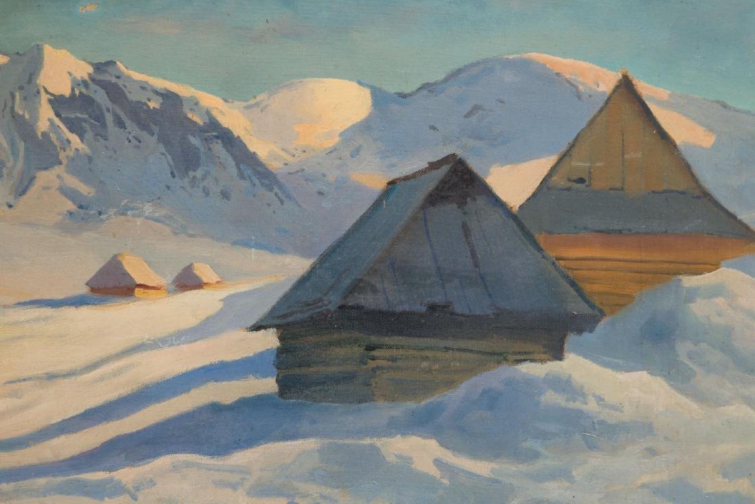 A. Lumicz Winter landscape - 4