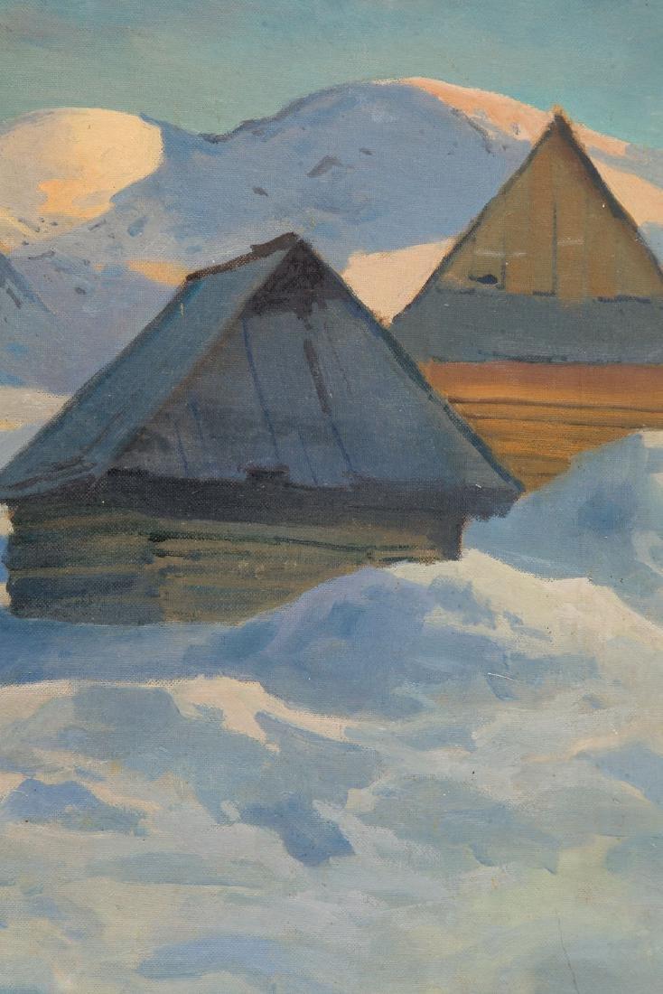 A. Lumicz Winter landscape - 5