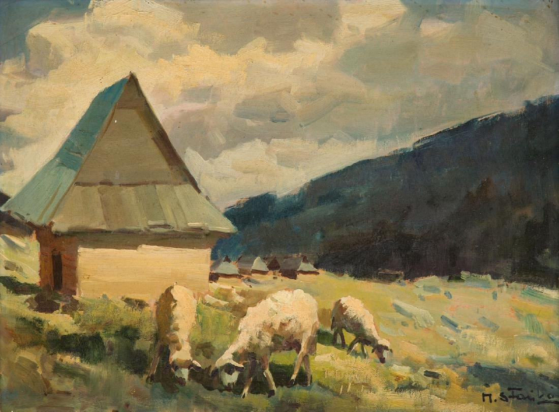 Michal Stanko (1901 - 1969) Pasture
