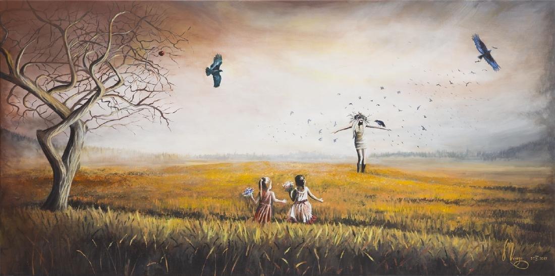 Martyna Maczka (b. 1988) Scarecrow, 2017