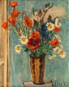 Zygmunt Jozef Menkes (1896 - 1986) Flower bouquet in