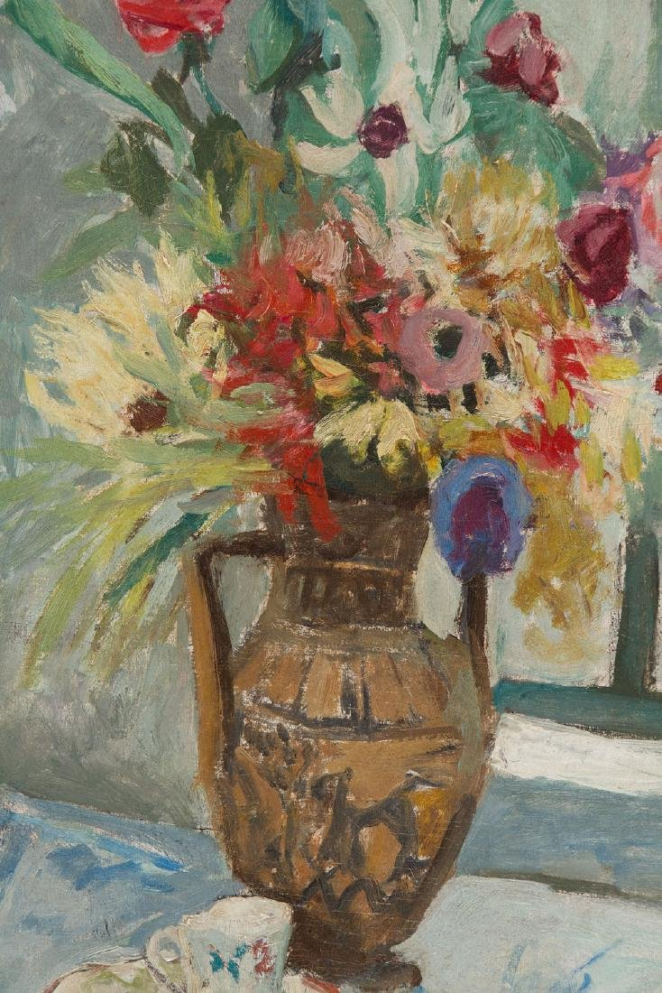 Jacques Chapiro (1887 - 1972) Flowers in vase - 5