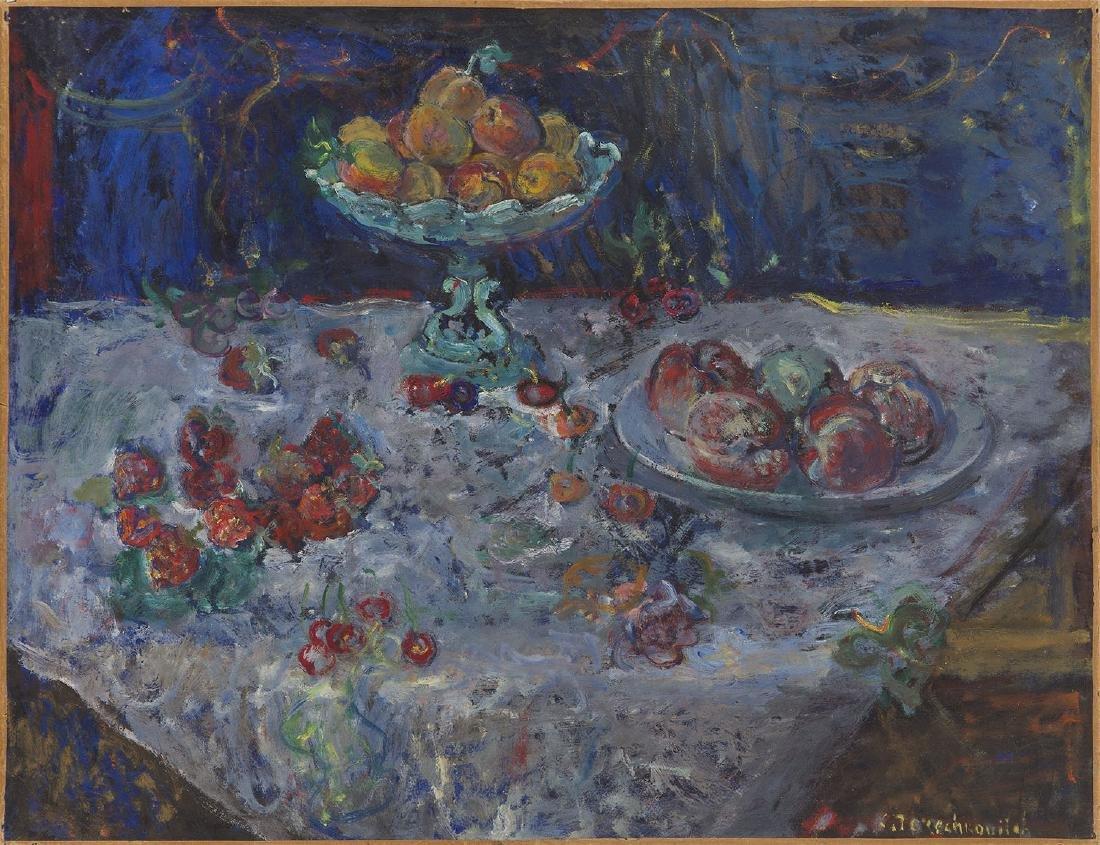 Constantin Terechkovitch (1902 - 1978) Fruit still life - 6