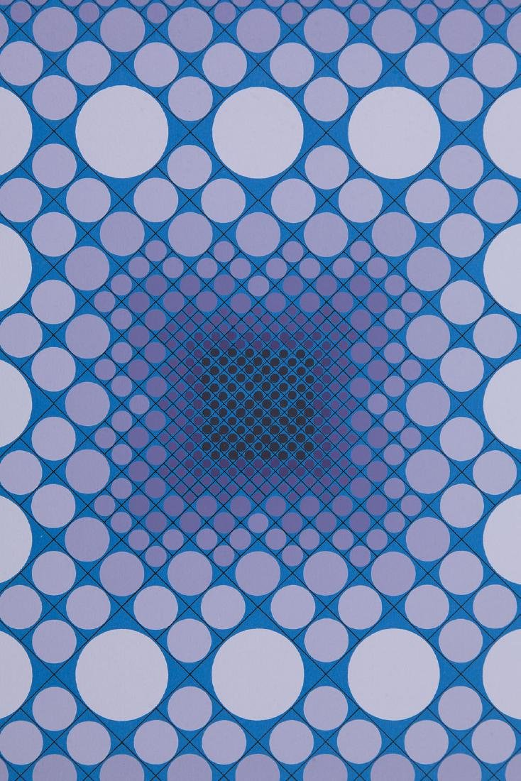 Victor Vasarely (1906 - 1997) Composition - 6