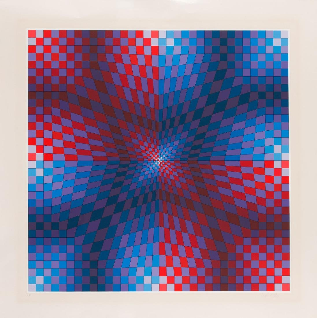 Victor Vasarely (1906 - 1997) Untitled, circa 1975