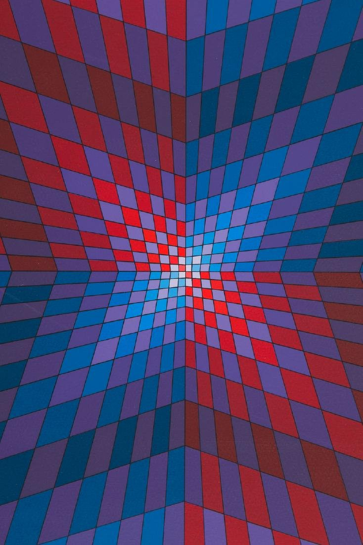 Victor Vasarely (1906 - 1997) Untitled, circa 1975 - 4