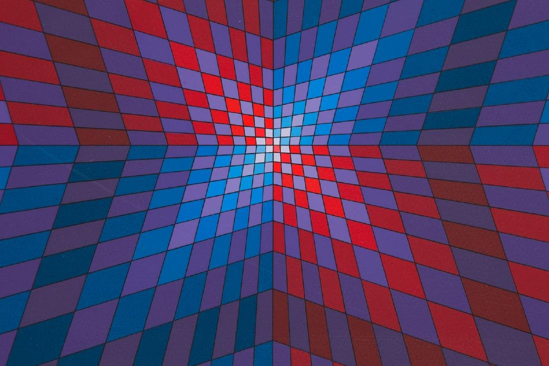 Victor Vasarely (1906 - 1997) Untitled, circa 1975 - 5