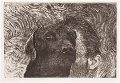 "Krystyna Piotrowska (b. 1949) ""Pontus the dog in the"