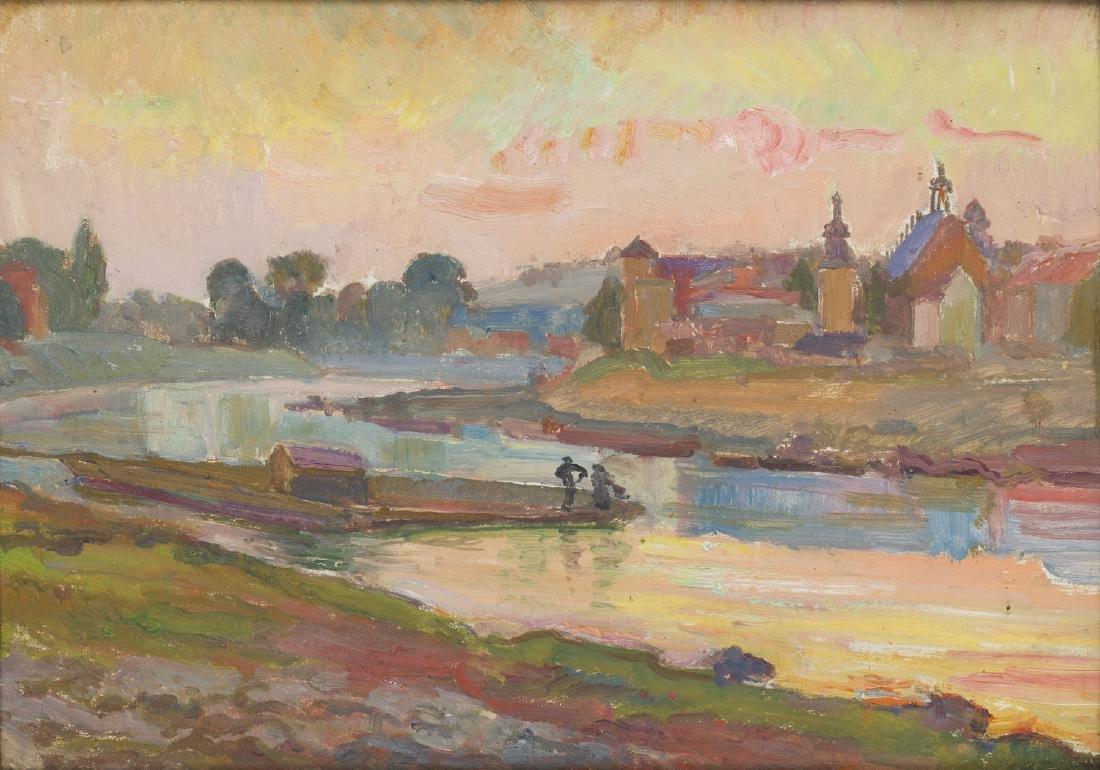 Stanislaw Paciorek (1889 - 1952) Vistula in Cracow
