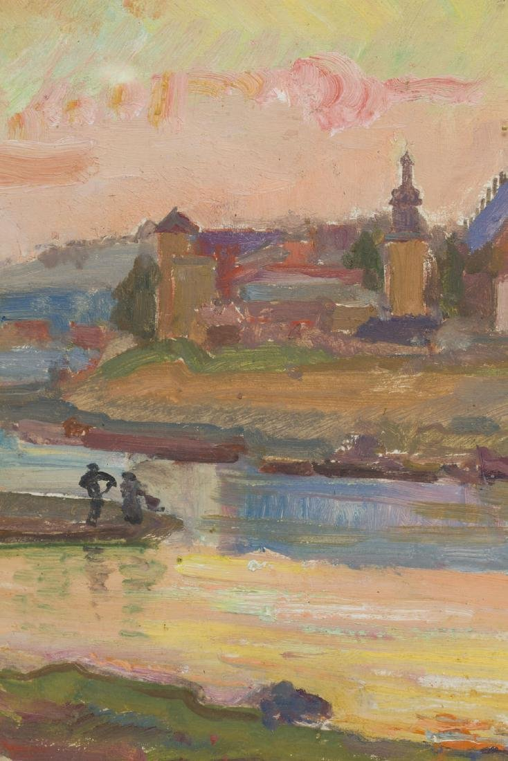 Stanislaw Paciorek (1889 - 1952) Vistula in Cracow - 2