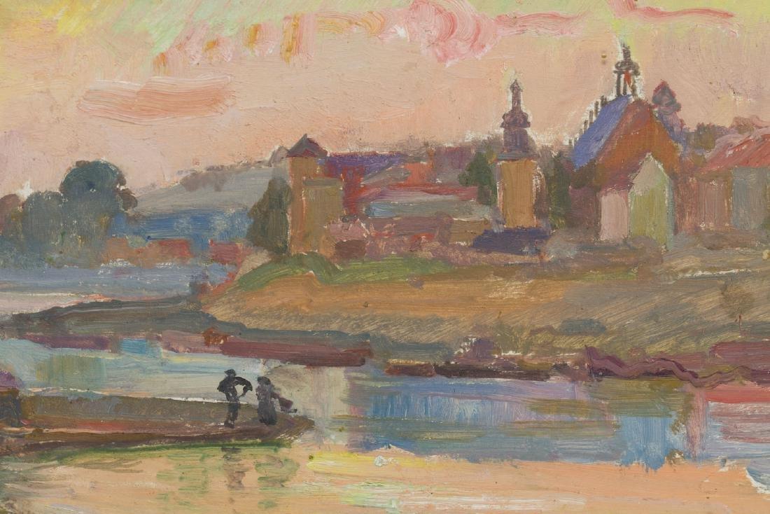 Stanislaw Paciorek (1889 - 1952) Vistula in Cracow - 3