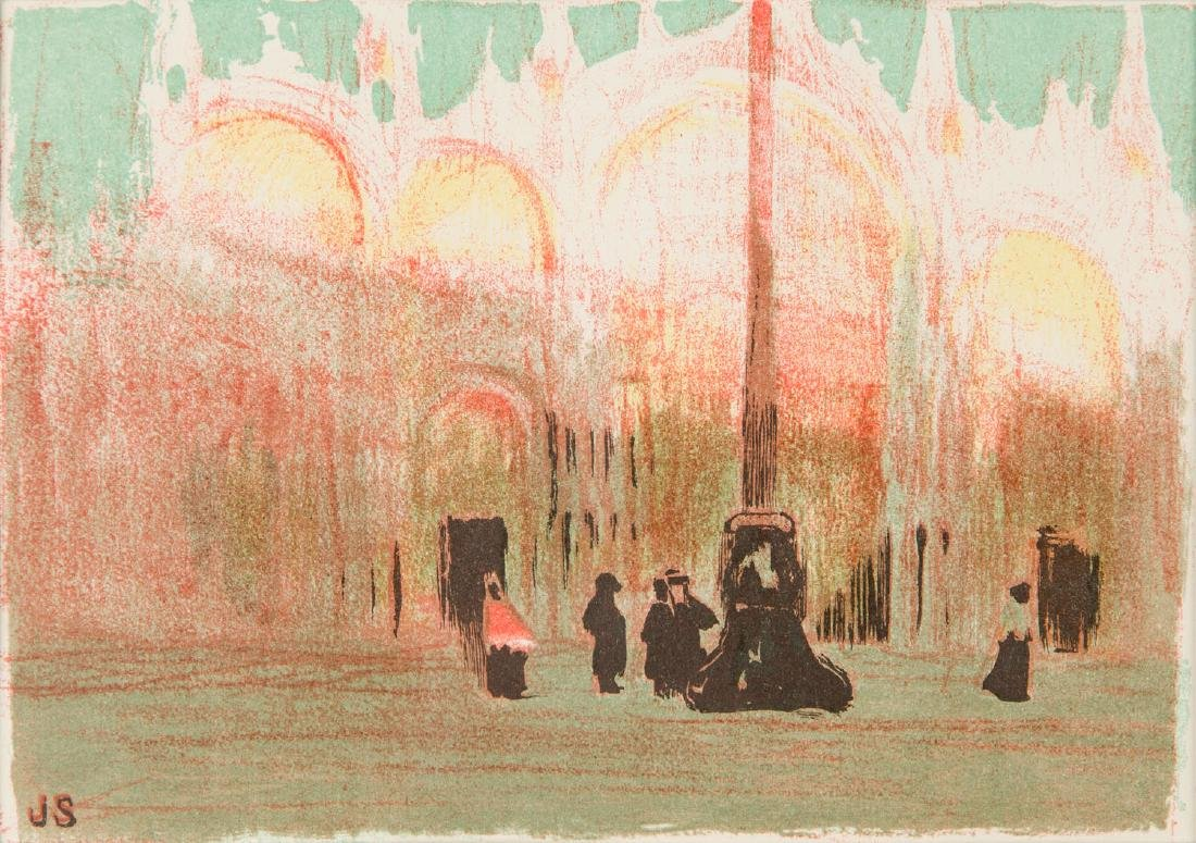 Jan Stanislawski (1860-1907) St. Mark's Square, 1909