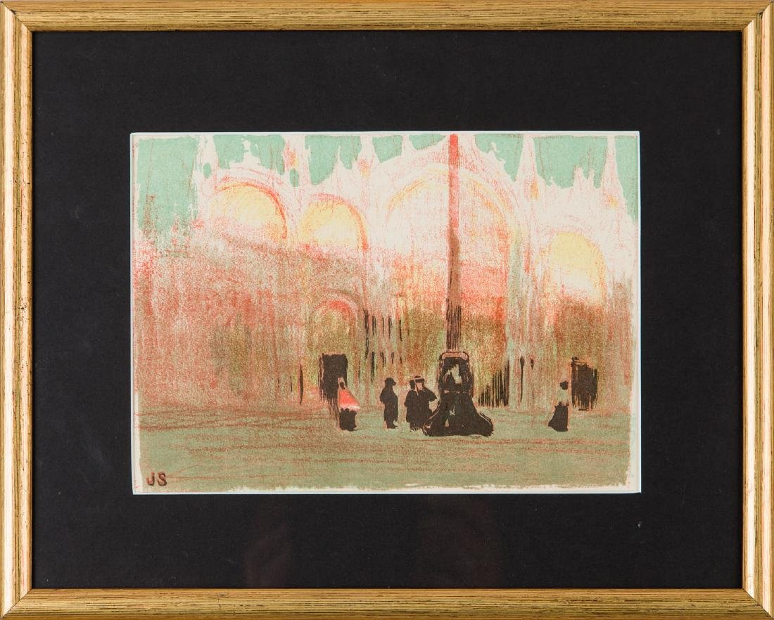 Jan Stanislawski (1860-1907) St. Mark's Square, 1909 - 3
