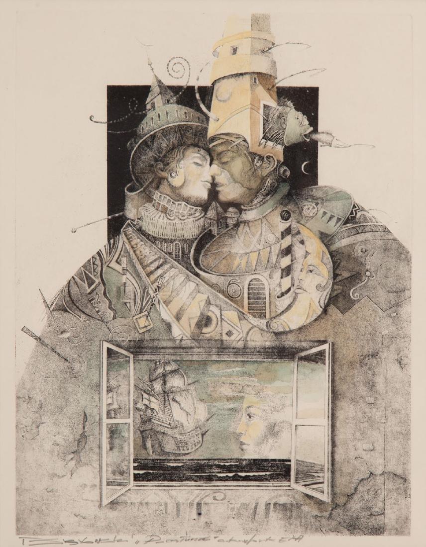 """Tomasz Setowski (b. 1961) """"Kiss"""""""